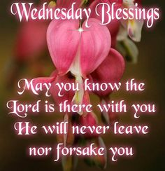 NeverLeaveYourorForsakeyouWednesday